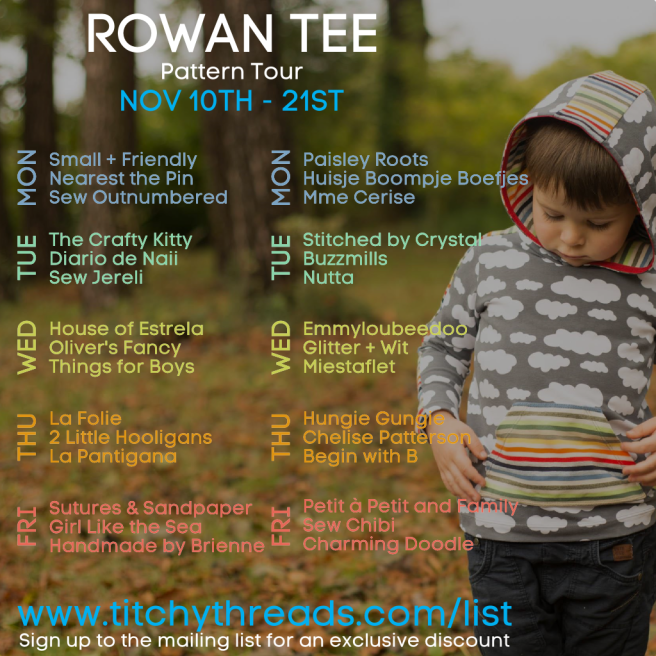 Rowan Tee Pattern Tour1